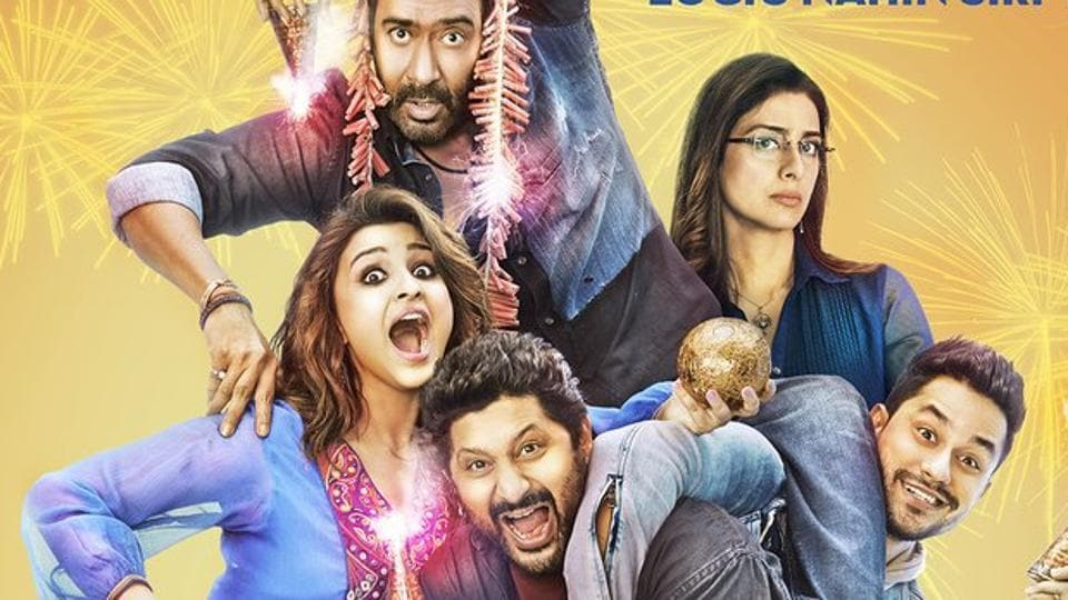 Golmaal Again in the fourth film in Rohit Shetty's Golmaal franchise.