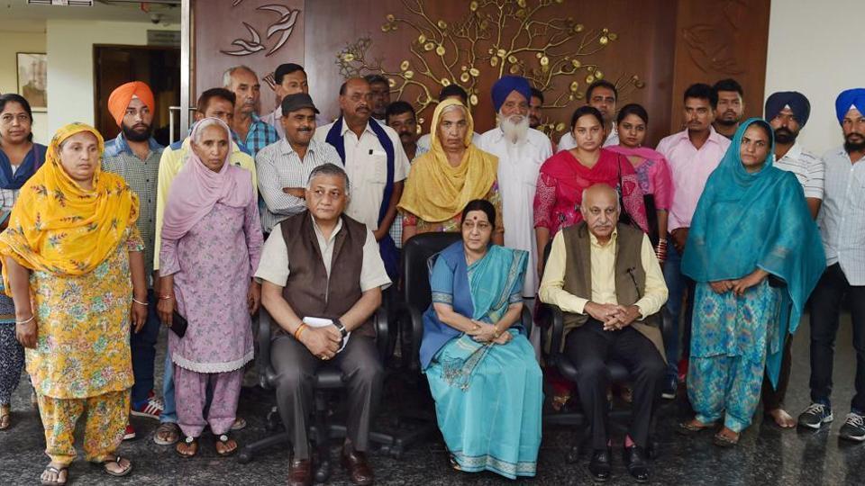 DNA samples,Kin of 39 missing Indians,Punjab govt