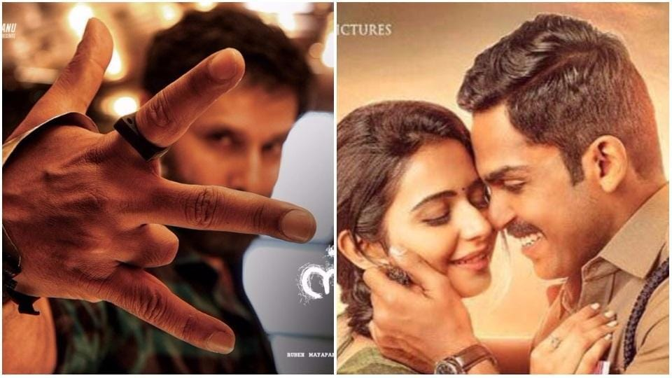 Vikram's Sketch teaser and Karthi's Theeran Adhigaaram trailer are out.