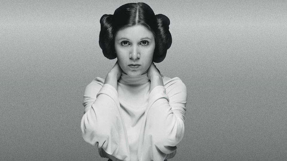 May the Force be with Carrie Fisher.