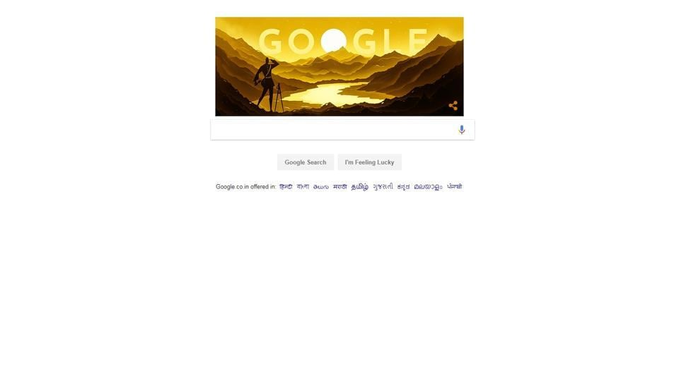 The Doodle marks what would have been Rawat's 187th birthda