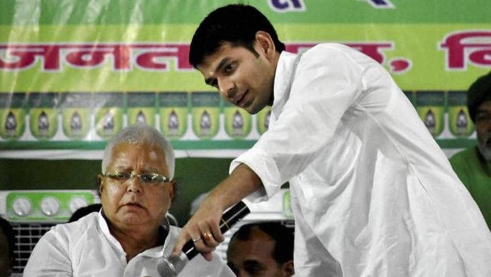Soil scam,Lalu Prasad,Tej Pratap Yadav