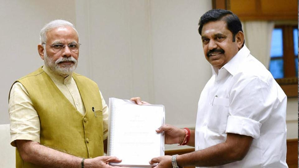 "Tamil Nadu Minister K T Rajendra Balaji has said ""nobody can shake"" the AIADMK as long as Prime Minister Narendra Modi ""supports the party""."