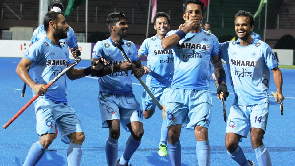 India thrashed Pakistan in Asia Cup hockey in Dhaka on Saturday.