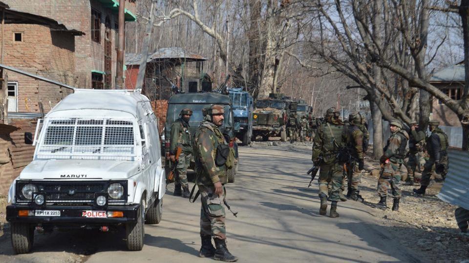 Kulgam,Jammu and Kashmir Police,Railway Protection Force
