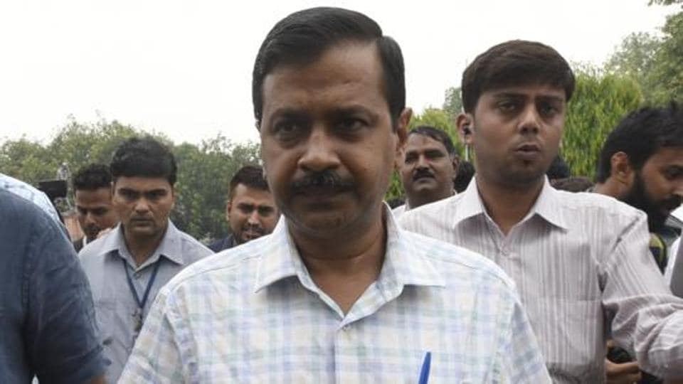 Delhi Chief Minister and National convener of the Aam Aadmi Party Arvind Kejriwal