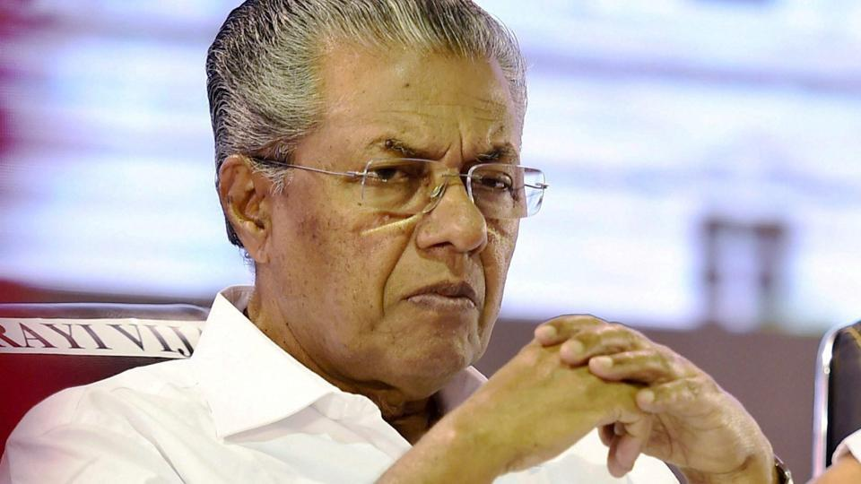 Kerala Chief Minister of Kerala Pinarayi Vijayan at a conference on