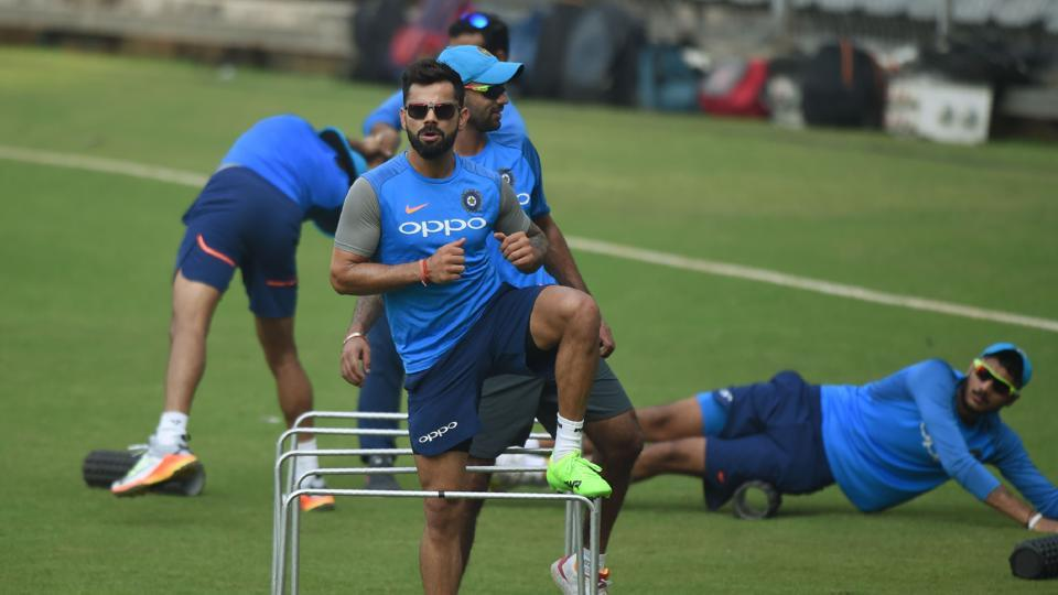 The first ODI will be held at the Wankhede stadium in Mumbai while the remaining two ODIs will be held in Pune and Kanpur.  (AFP)
