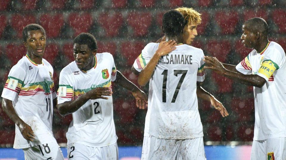 Mali secured yet another victory over Ghana as they won the quarter-final 2-1 in Guwahati to enter the semi-final of the FIFAU-17 World Cup.