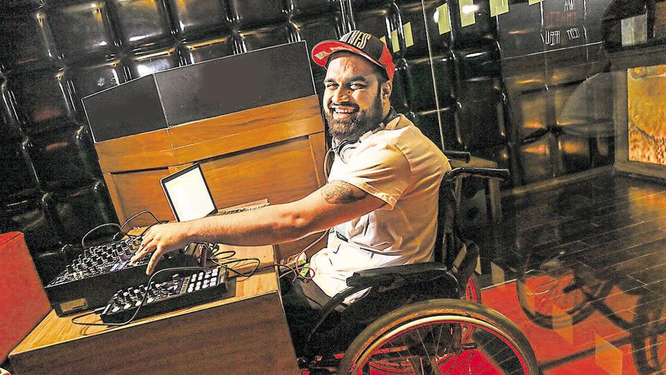 Varun Khullar aka DJ Aamish — India's first disabled DJ — is all set to open Time Out 72 music festival in Goa.