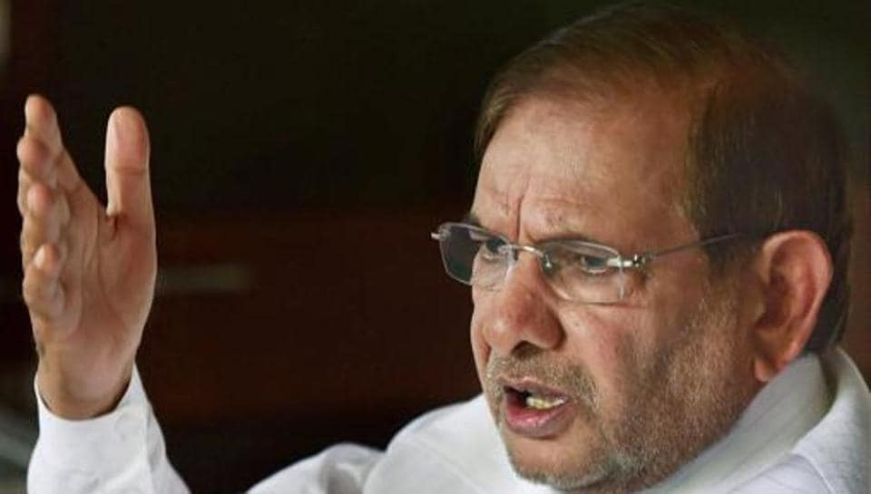 Rebel Janata Dal (United)  leader Sharad Yadav had earlier approached the Election Commission staking claim over the party's  election symbol.