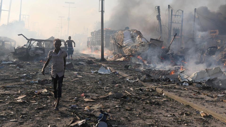 Somalia,Mogadishu,Somalia Attack