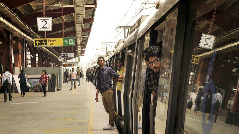 Delhi Metro, due to technical glitch at blue line, metro services were interrupted on Tuesday morning. Office goers had to face a lot of problems as the metro stopped at each station for more than 30 minutes in New Delhi. India, on Tuesday, July 01, 2014
