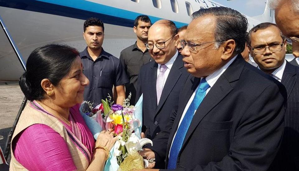 Sushma Swaraj,Dhaka,Bangladesh