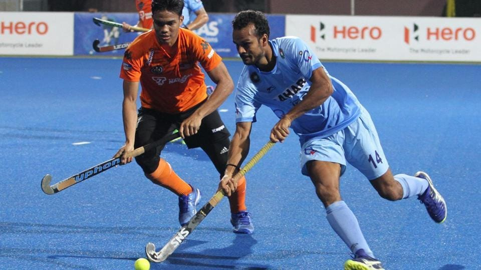 Lalit Upadhyay doubled the lead for India in the 29th minute. (Hockey India)