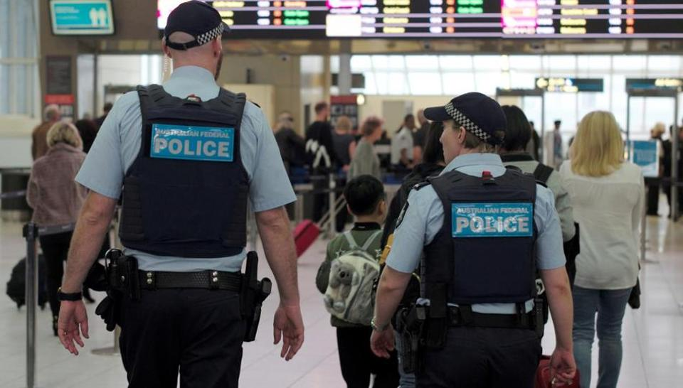"Airport security was tightened in July after police foiled ""Islamic-inspired"" plans for a bomb attack on an Emirates flight from Sydney."