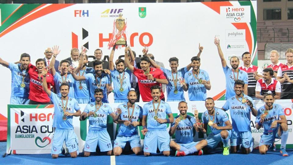 India defeated Malaysia to clinch their third Asia Cup hockey title in Dhaka on Sunday.