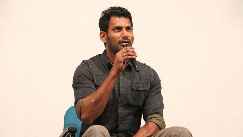 Actor Vishal released a statement condemning BJP leader H Raja's comments about Vijay's Mersal.