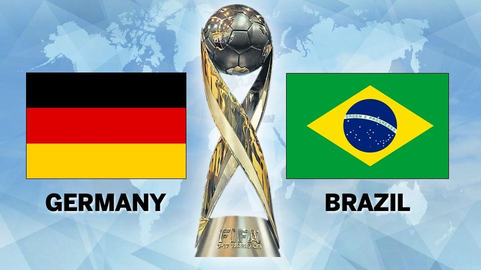 FIFA U-17 World Cup,Germany vs Brazil live football score,Live score
