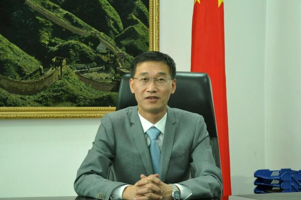 Chinese ambassador to Pakistan Yao Jing