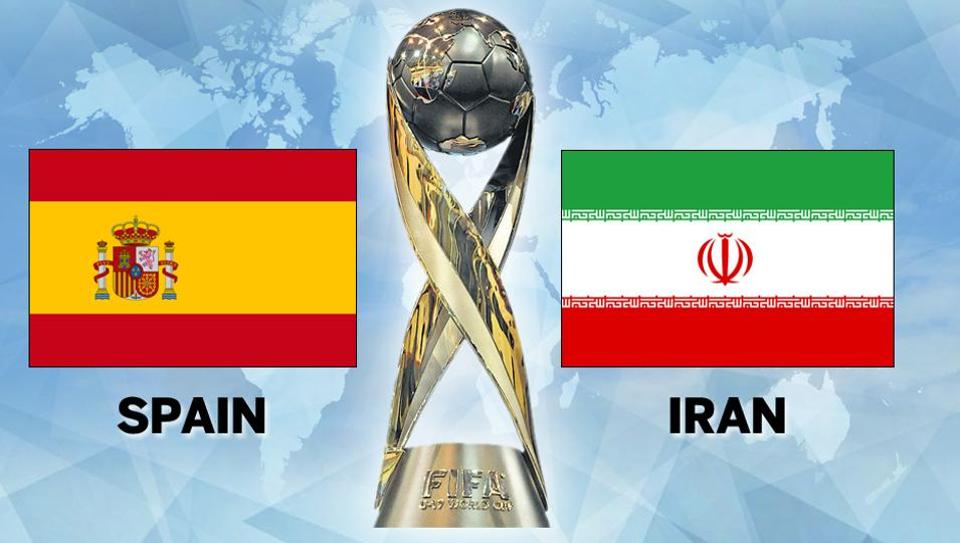 Spain Defeated Iran In The Quarterfinals Of The Fifa U  World Cup Get