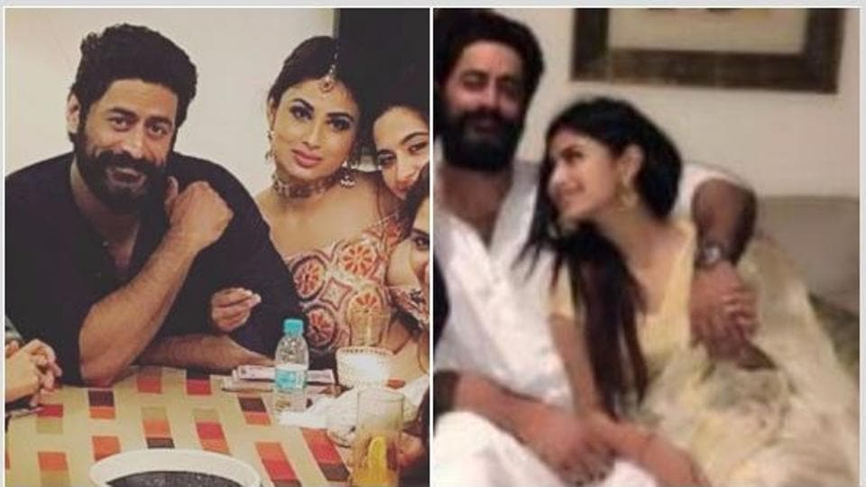 Mohit Raina and Mouni Raina let their guards down for once.
