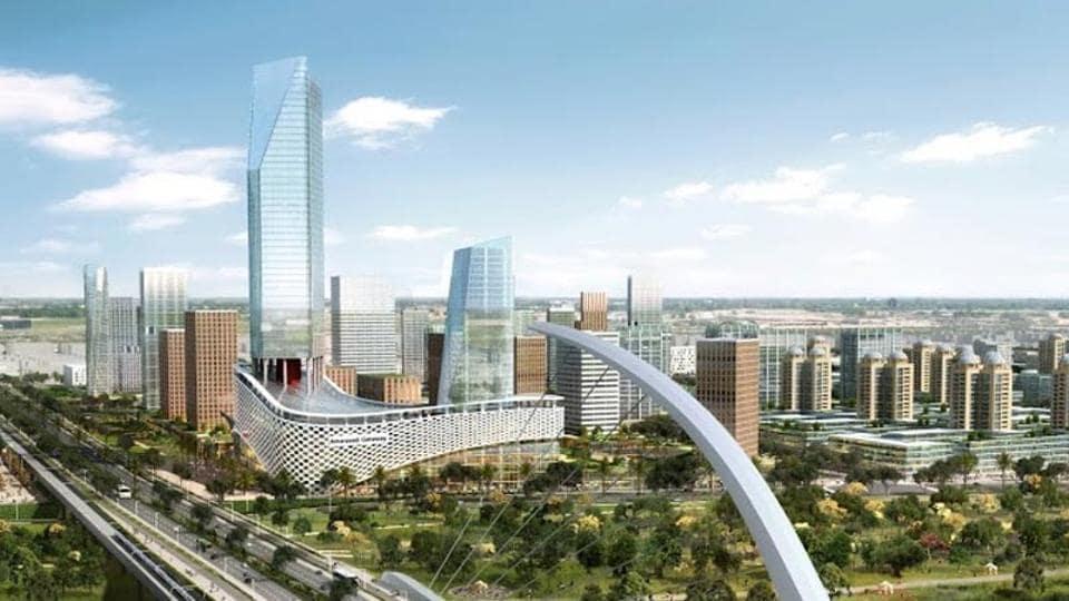A representative photo of how Andhra Pradesh's capital Amaravati will look.