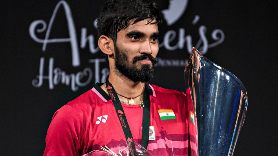 Kidambi Srikanth defeated Lee Hyun Il in the men's singles final to clinch the Denmark Open badminton title.