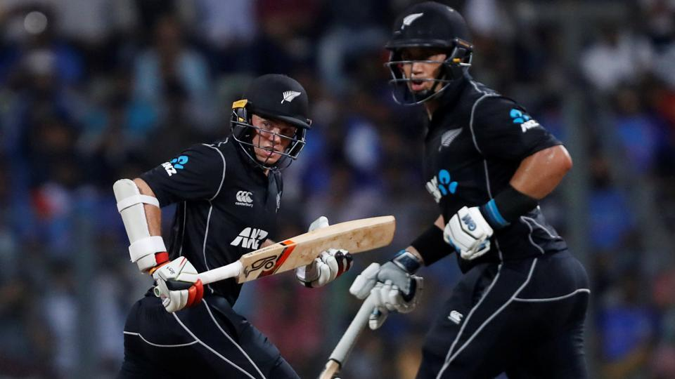 Ross Taylor and Tom Latham shared a record partnership of 200 runs for the 4th wicket. (REUTERS)