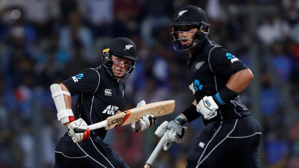 New Zealand's Ross Taylor and Tom Latham guided their team to victory against India in the 1st ODI encounter in Mumbai. Get live cricket score of India vs New Zealand, 1st ODI here