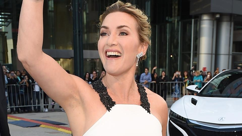Kate Winslet attends The Mountain Between Us premiere during the 2017 Toronto International Film Festival.
