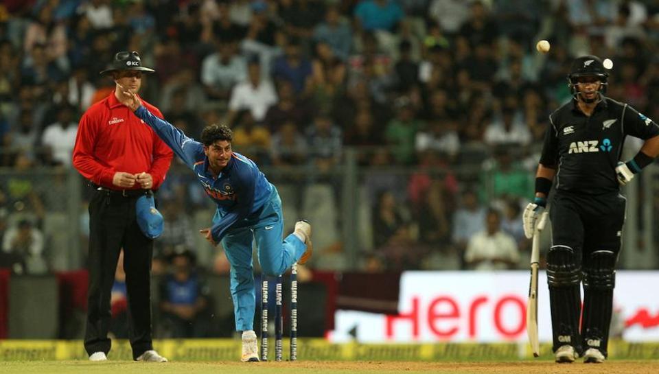 Dinesh Karthik,India vs New Zealand,Kuldeep Yadav