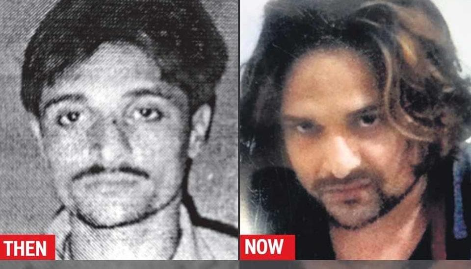 Left: Photo of Kunal Maheshwari clicked in 2010 before surgery. Right: His recent coloured photo.