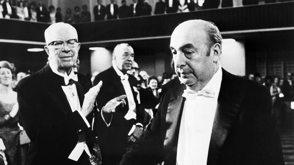 The panel of international experts found that Chilean Nobel laureate Pablo Neruda (right) did not die of cancer.