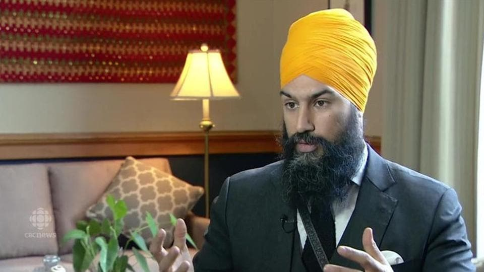 "Jagmeet Singh said he considers self-determination to be ""a basic right""."