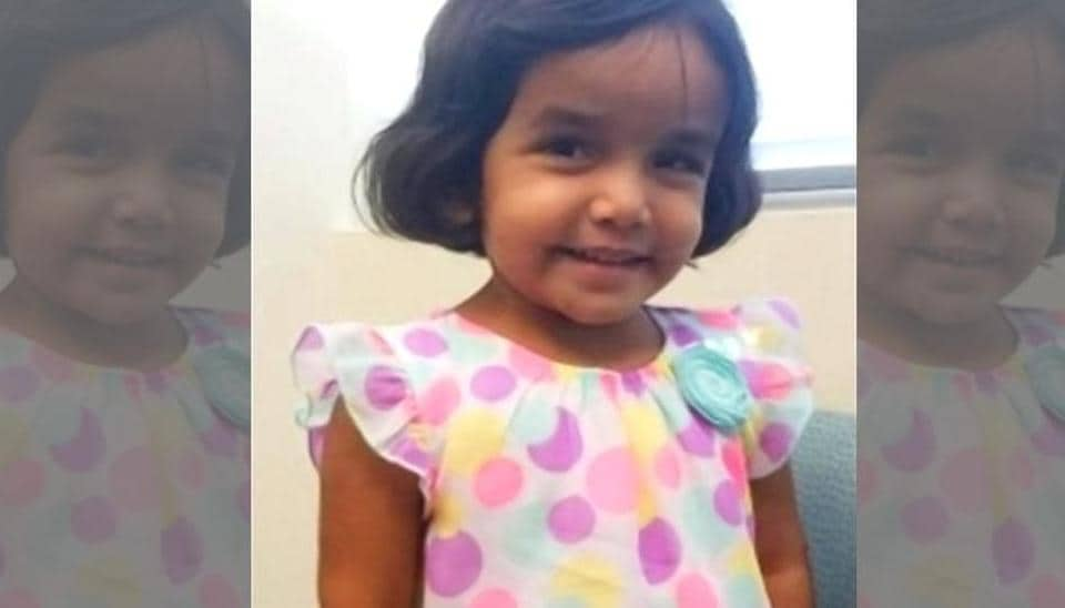 This undated photo provided by the Richardson Texas Police Department shows 3-year-old Sherin Mathews. (AP)