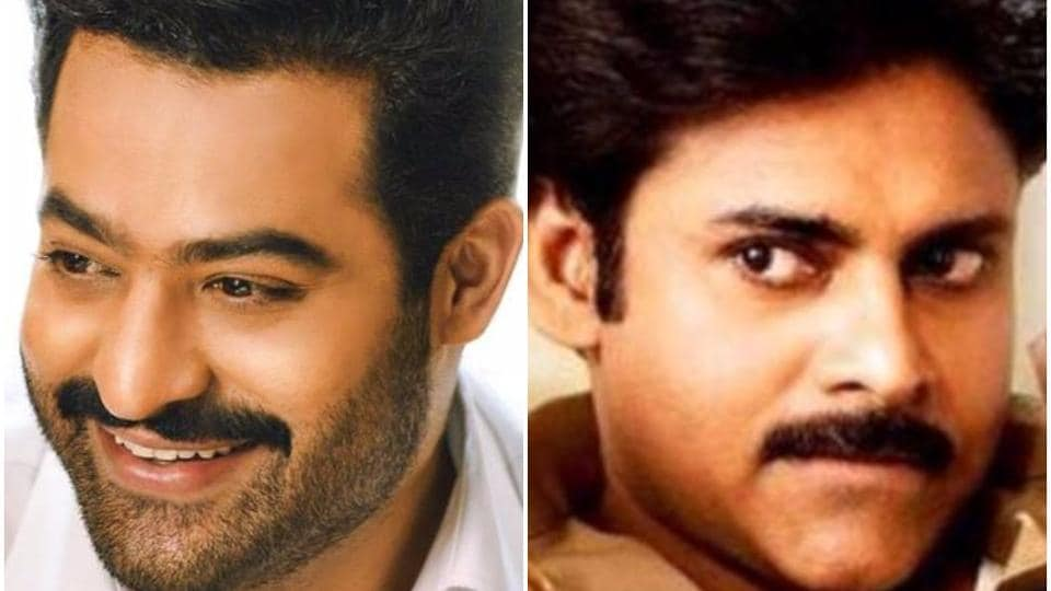Director Trivikram has a project each with Pawan Kalyan and Jr NTR.