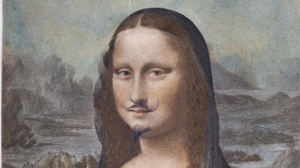 "One of Marcel Duchamp's reproductions of Leonardo Da Vinci's ""Mona Lisa"" has sold for 632,500 euros ($750,000) at Sotheby's in Paris."