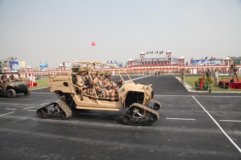 Greater Noida,ITBP,Sino-Indian border