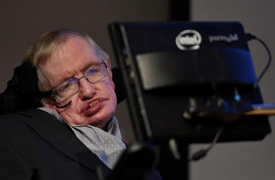 British scientist and theoretical physicist Stephen Hawking.