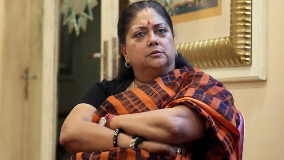 Vasundhara Raje,Rajasthan,Indian Penal Code