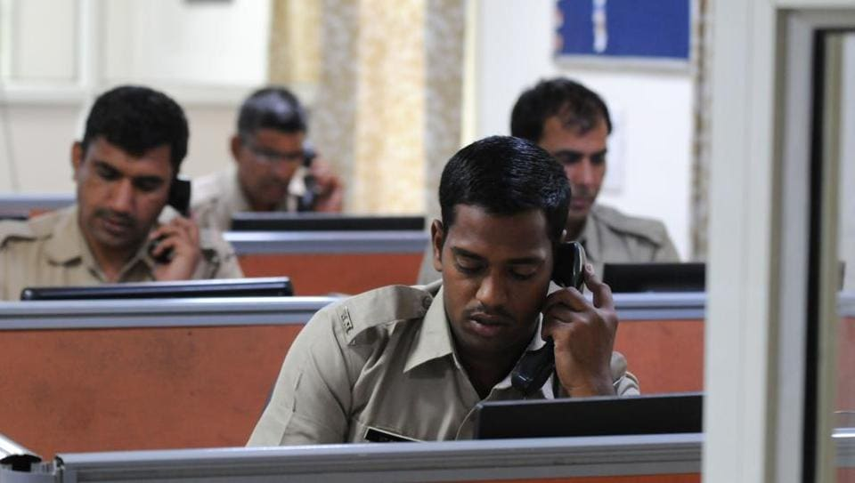 To prevent fake calls from flooding the Gurgaon police control room, an interactive voice response system was installed on October 15 on trial basis.