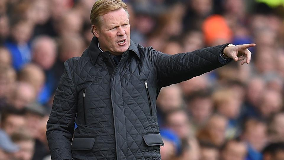 Ronald Koeman was sacked by Everton after their terrible start to the Premier League season.