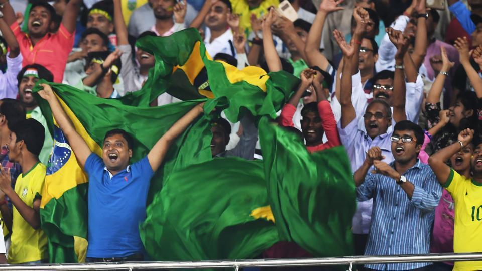 FIFAU-17 World Cup,Brazil vs England,Guwahati