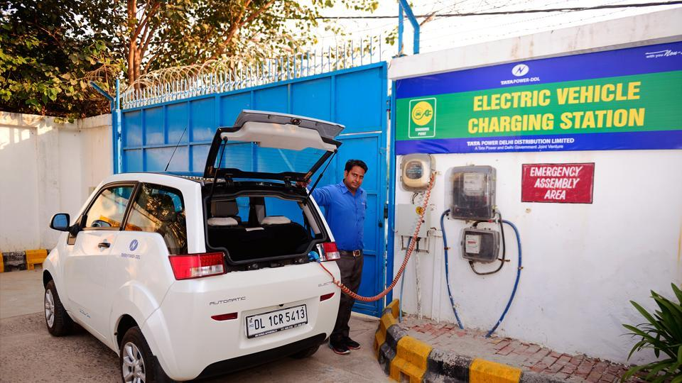 2 EV Charging Stations opened for public at Hyderabad