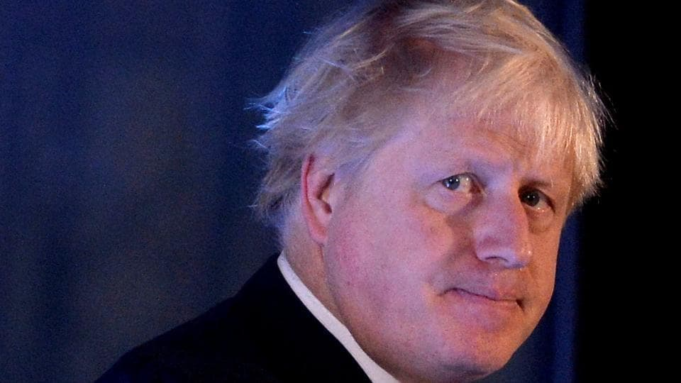 Britain's Foreign Secretary Boris Johnson attends the 2017 Chatham House London Conference at the St Pancras Renaissance Hotel in London, Britain. October 23, 2017
