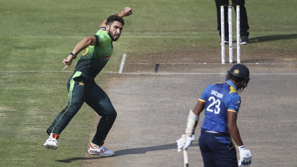 Usman Khan picked up five wickets in a space of 21 balls as his 5/34 bowled Sri Lanka out for 103 in the Sharjah ODI.