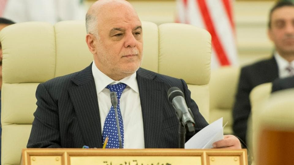 """The office of Iraqi Prime Minister Haider Al-Abadi, himself a Shi'ite, said the forces were under the authority of the Iraqi government. """"Popular Mobilisation are Iraqi patriots."""