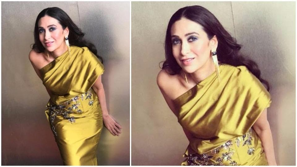 Most of us can only dream of having the lean legs and perfectly-placed curves of Karisma Kapoor, who once again wowed with her eye-catching one-shoulder look.