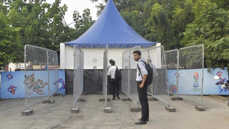 The turnout for ticket refunds in Guwahati was quite low after the FIFAU-17 World Cup semifinal was shifted to Kolkata.